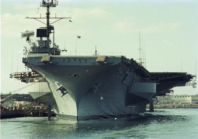 San Diego Zoo, Aquarium and the aircraft carrier, 1978.