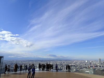 渋谷スカイで東京の空を感じる