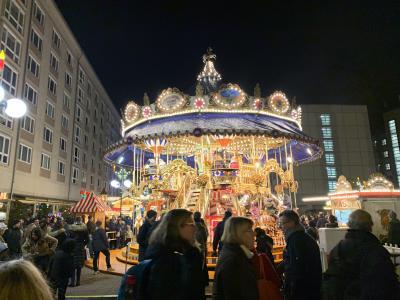 クリスマスマーケットとアンティークマーケット三昧の旅(ライプツィヒにて)