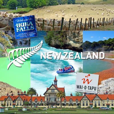 ニュージーランド北島レンタカー旅2-土ボタル鑑賞、フカ滝、Huka Honey Hive、ワイオタプ、BestWesternRotorua泊