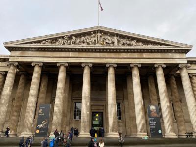 ロンドンの魅力満喫一人旅 その3 大英博物館~ナショナルギャラリー