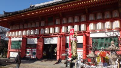 ゴンママの1月の古都歩こう会は、大阪市の上町台地を歩く。