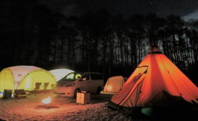 道民キャンパーズ2019真冬の陣・・・・・(極寒雪中キャンプ)
