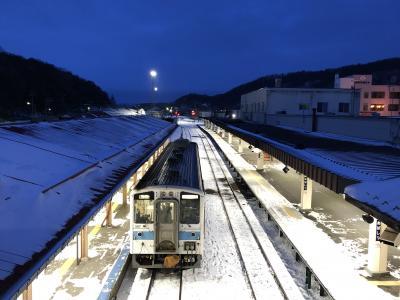 冬の北海道鉄道旅と居酒屋巡り4-2(釧網本線、花咲線、釧路、根室)
