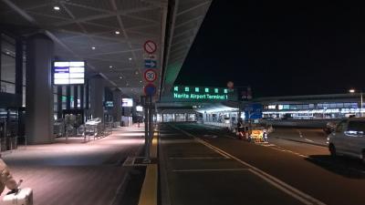 成田空港からターキッシュエアでトルコに向かう。