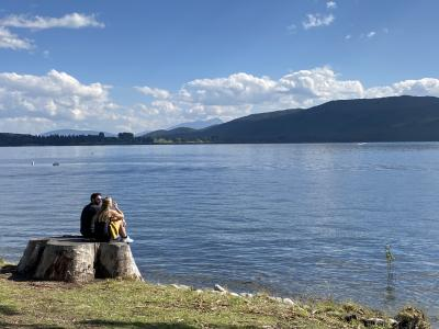 NZ南島レンタカーで女子2人ロードトリップ!⑤のんびりテアナウと道中のバンジー見学
