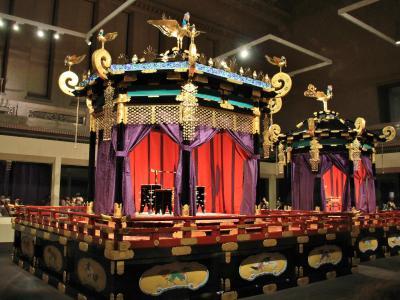 特別公開高御座と御帳台 &黒田記念館、びわ湖長浜KANNNON HOUSEなど2020年1月
