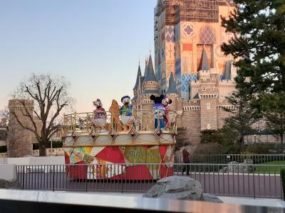 初めてのお正月ディズニーへ! 東京ディズニーランド 2020/1/2