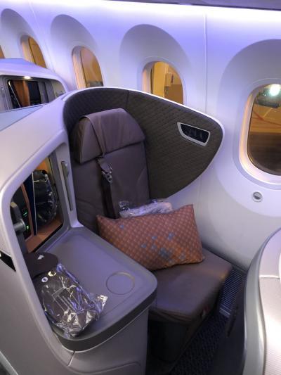 シンガポール航空ビジネスクラス シンガポール→上海