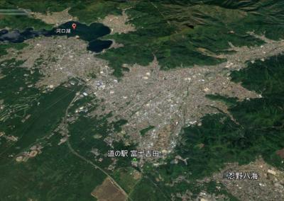 冬の富士五湖で車中泊を楽しみながら東京へ(4/8)『道の駅富士吉田』で車中泊
