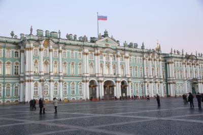 ロシア旅行3日目~エルミタージュ美術館へ。