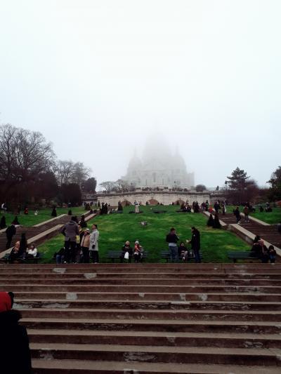史上最悪のカウントダウンはフランスで☆4日目はモンマルトル散策、それ以降はノックダウン