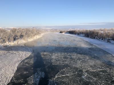 冬の北海道鉄道旅と居酒屋巡り4-4(札沼線、滝川、新十津川)