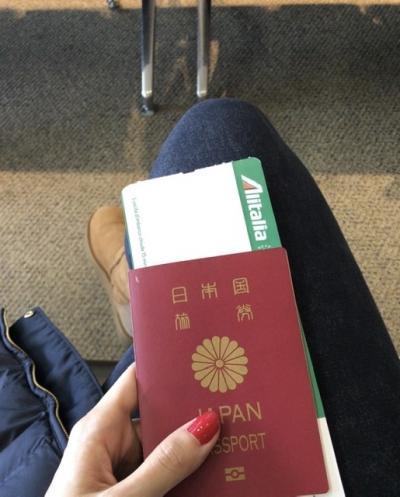 年末年始◎イタリア旅行◎1日目<成田→ミラノ移動>