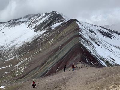 2019年12月個人手配でペルー旅⑤クスコ~レインボーマウンテン
