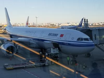 中国国際航空ビジネスクラス搭乗記 Air China Business Class CA(2019 N/Y ジャカルタ・バンコク・北京①)