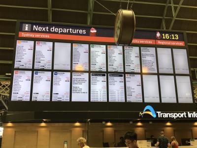 フィッシュマーケットからはライトレール そしてスーパー シドニーひとり旅 2020-7