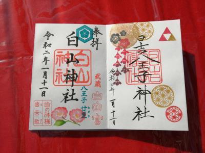 '20 東京御朱印さんぽ 日吉八王子神社~白山神社~蕎麦と杜々~京王高尾山温泉