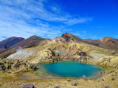 年末年始ニュージーランド(4) トンガリロ国立公園&ロトルア、タウポ