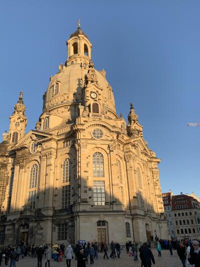 ドレスデン旧市街観光とグルメ