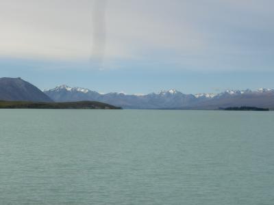 2020新春 ニュージーランド03:テカポ湖と善き羊飼いの教会、プカキ湖とアオラキ(クック山)