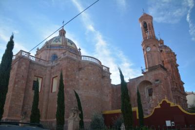 ビバ メヒコ サカテカスからグアダルーペへ行きました。