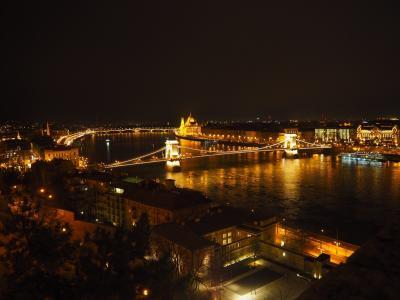 「Balkans旅記」vol.7 ハンガリーBudapestの夜景は素晴らしかった