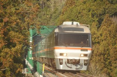 特急「ひだ」を高山本線で撮って来ました・・・2020年1月