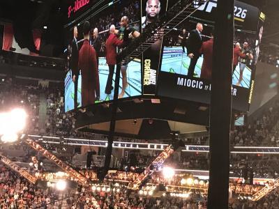 格闘技観戦のためのラスベガス一人旅 その3 UFC観戦編