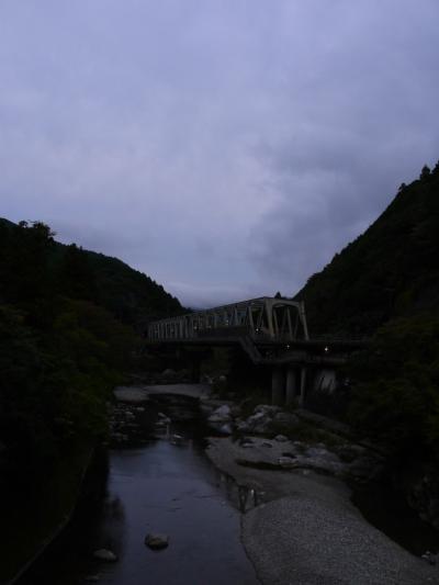 2019年10月 カツオが戻ってくるぞー!高知に集まれ(´▽`)ノ(5)橋をめぐる1日 秘境駅・土佐北川へ