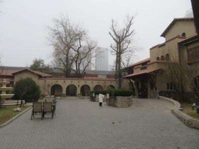中国 「行った所・見た所」 天津のホリディインエクスプレス天津和平に宿泊して静園に入園しました