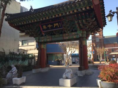 フェリーで入国、冬の釜山・大邱の旅②