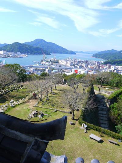 2019年10月 カツオが戻ってくるぞー!高知に集まれ(´▽`)ノ(9)宇和島城と予讃線 最後はオレンジフェリーで船旅