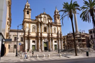 シチリアの最大都市パレルモ。