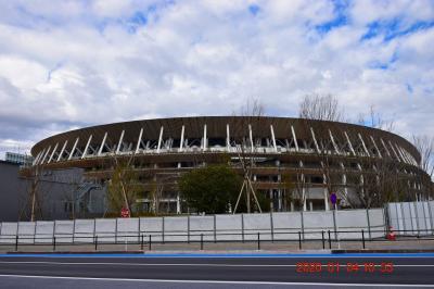 2020 OLYMPIC YEAR ②完成後の新国立競技場一周