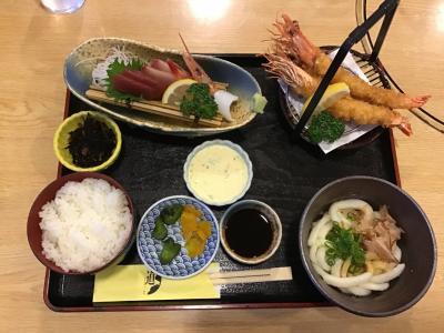 道の駅伊勢志摩レストラン道で食事を