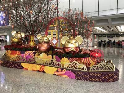 2020年1月 シドニーからのトランジット17時間 香港