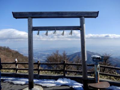 雪が恋しくて御在所岳へ  しかーし、今年は雪がなーい (/ _ ; ) やっぱり暖冬なんだ