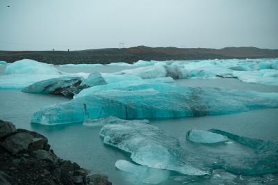 2019-2020年越しアイスランド PART 3/6 ヨークルスアゥルロゥン氷河湖、オーロラ