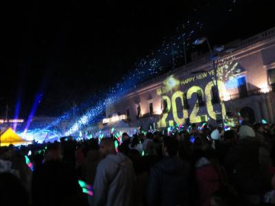 地中海のマルタ共和国で盛大且つエキサイティングな年越し♪【3】花火で令和2年の幕開け!