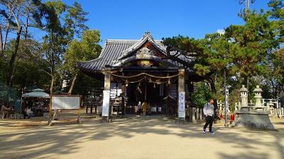 伊丹市の猪名野神社で初詣してきました 上巻。