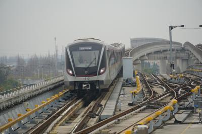 ヤンゴン、マンダレー+上海 鉄道・バスの旅1(上海からヤンゴン)