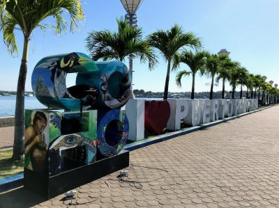 世界一美しい島を見に行こう セブ&パラワン夫婦二人旅③ 2日目 プエルトプリンセサ観光