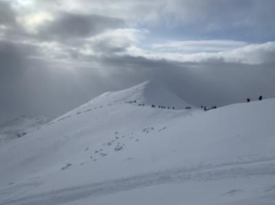 雪不足だけど、パウダースノー