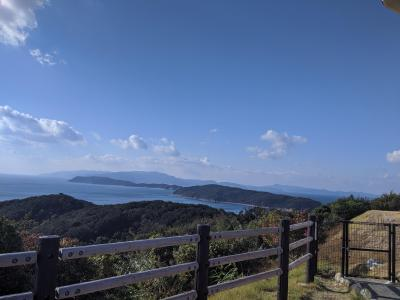 和歌山の青い空と世界チーズ商会のガレージセールと