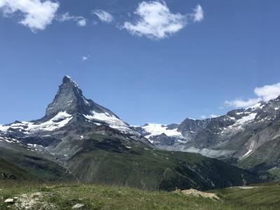 レンタカーで回る、スイスアルプスとモンブラン
