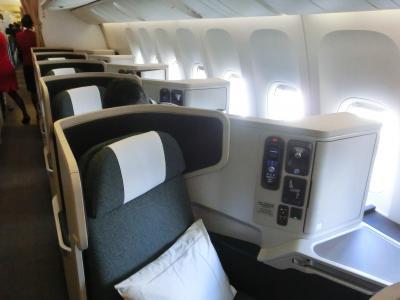 キャセイパシフィック航空とキャセイドラゴンのビジネスクラスでプーケットへ パトンビーチホテルに宿泊