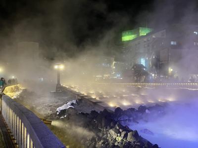 雪の軽井沢から草津温泉その2