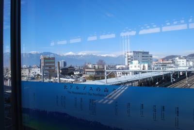 北アルプスを望む街、城下町松本