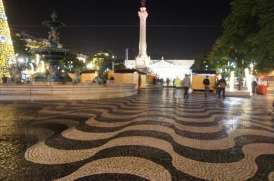 2019年12月 ソウルとフランクフルト経由でリスボンへ その2 フランクフルトを経由してリスボンに夜到着 バイシャ周辺を散策